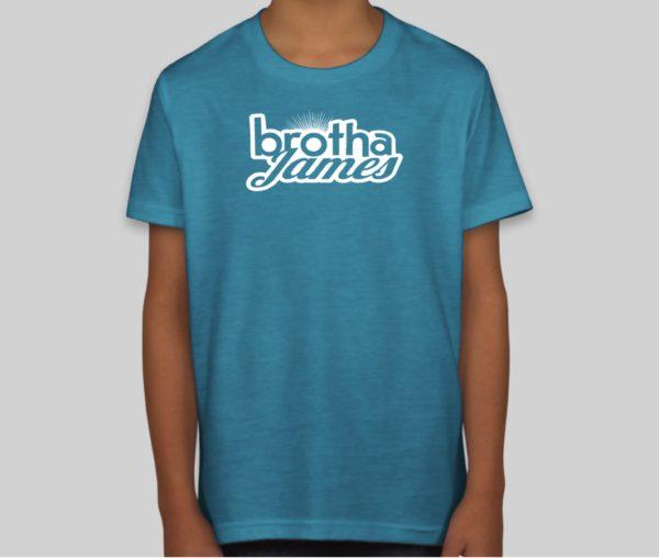 Kids blue shirt | Brotha James