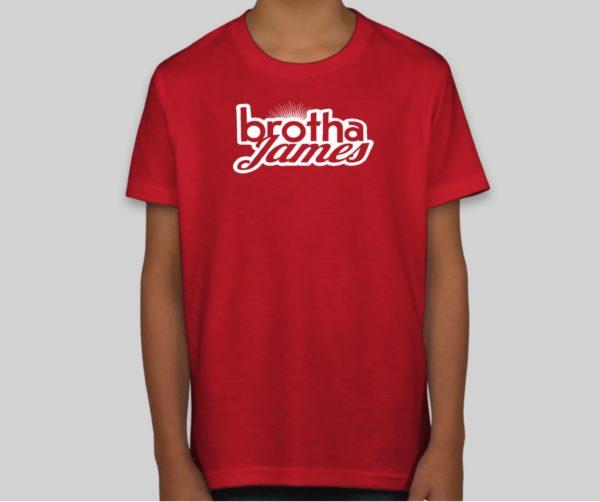 Kids red shirt | Brotha James