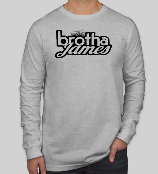Brotha James Longsleeve Grey | Brotha James