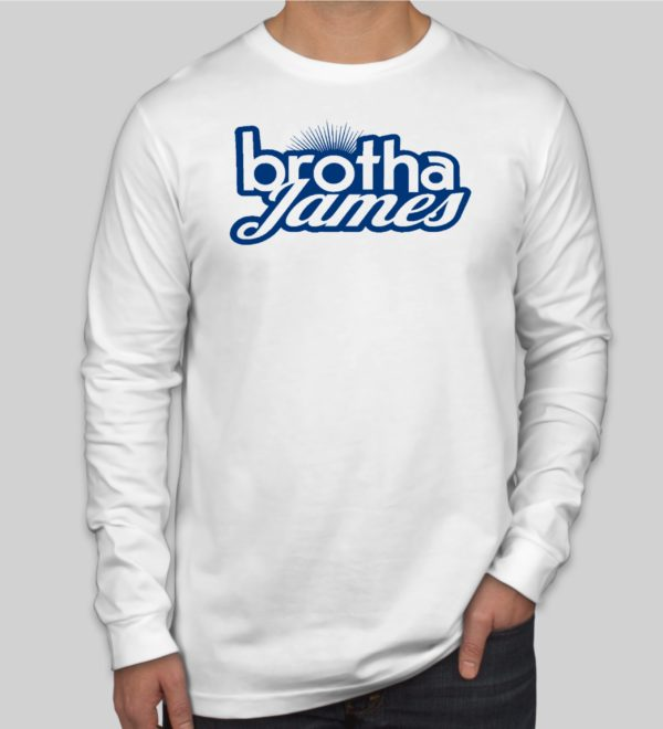 Brotha James Longsleeve White | Brotha James